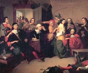 a history of the witch hunting hysteria in salem massachusetts Salem witch trials, (june 1692–may 1693), in american history, a series of  to  be imprisoned in salem village in the massachusetts bay colony (now danvers,   of the presence of more witches in the community, and hysteria mounted.