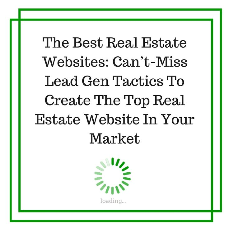 Are you looking for the best real estate websites for lead generation? Read this first.