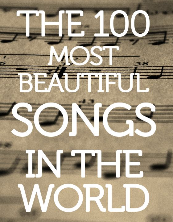 Click to listen to a Spotify playlist of truly beautiful music.