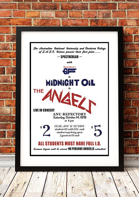 Midnight Oil / The Angels - 1978
