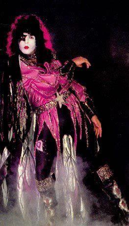 Paul Stanley Strikin' A Pose - 1979