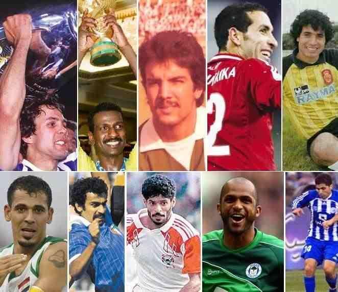 بالصور أفضل 20 لاعبا في تاريخ كرة القدم العربية Baseball Cards Baseball Sports