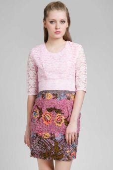 Dewi Citrawati Batik dress | Kebaya Dress | dress Brokat | dhievine