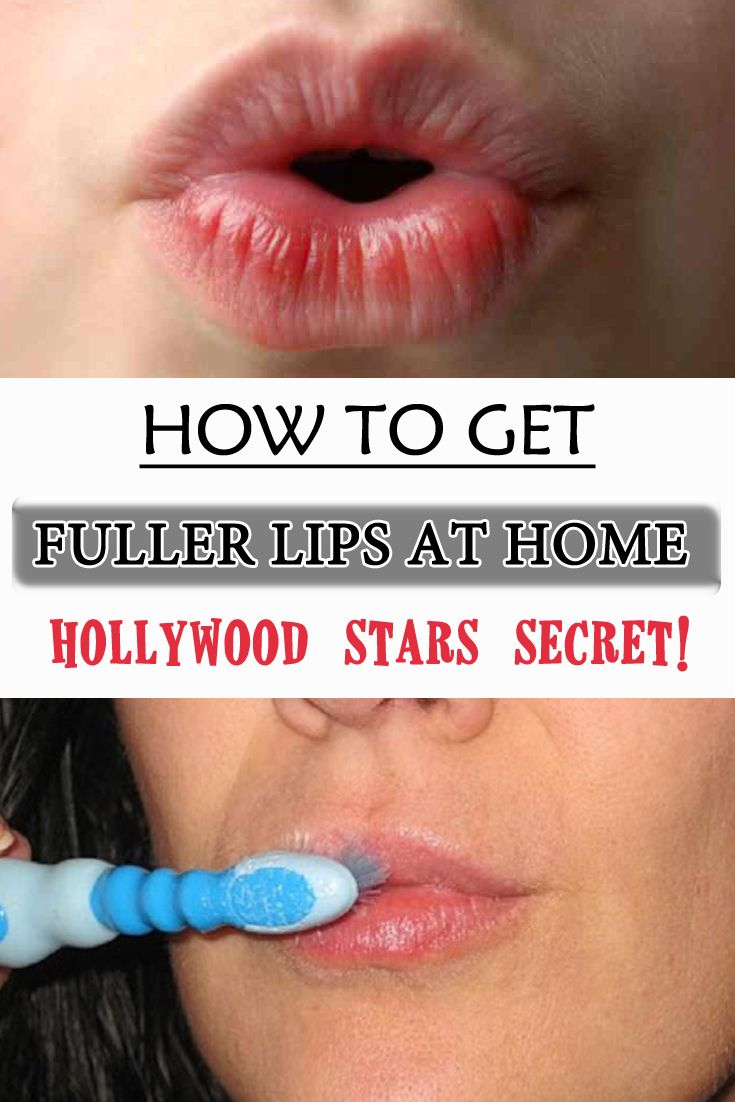 How to get fuller lips at home - Hollywood Stars secret! - WifeMommyWoman