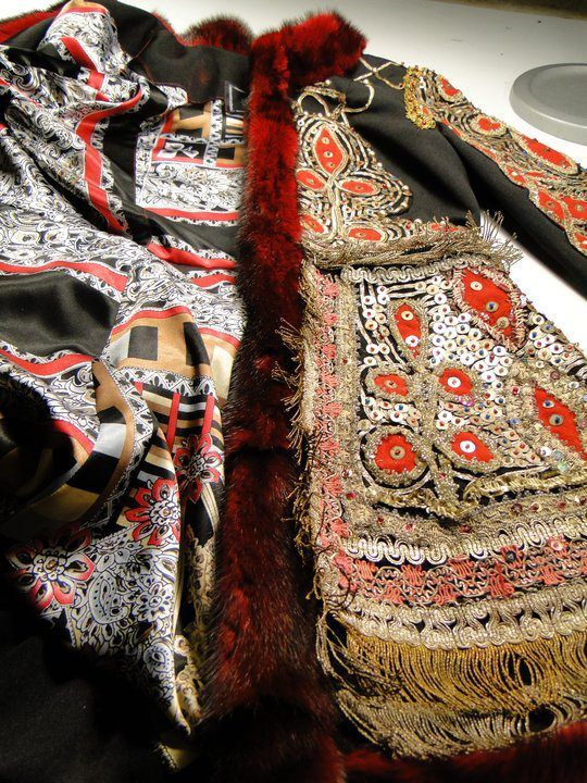 hungarian costume full garment textile restoration by jean stranquist, seattle front view_finished
