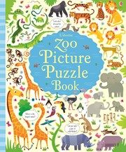 Zoo picture puzzle book 4+