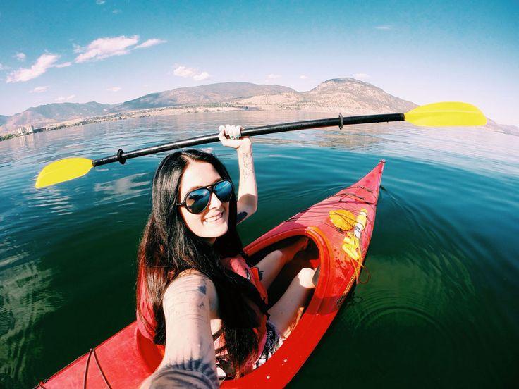 A Kayaking Wine Tour // Penticton, Okanagan British Columbia @HelloBC #ExploreBC // @GoPro