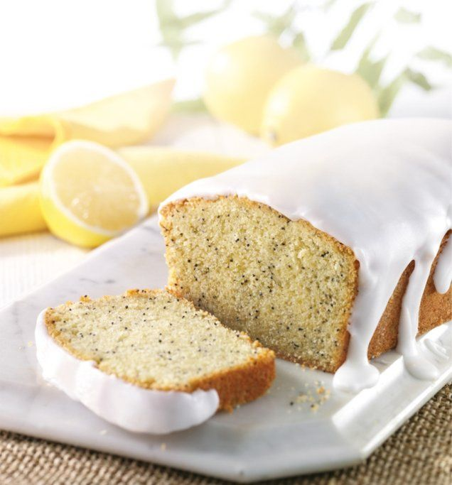 Gluten Free Lemon and Poppyseed Loaf Cake