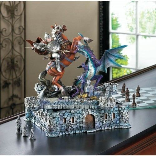 Dragons & Knights Chess Set | Toys & Hobbies, Games, Chess | eBay!