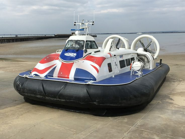 Hovercraft, Hovertravel, Ryde, Isle of Wight