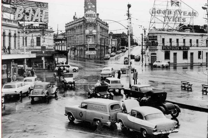St Kilda Junction, early 1960s