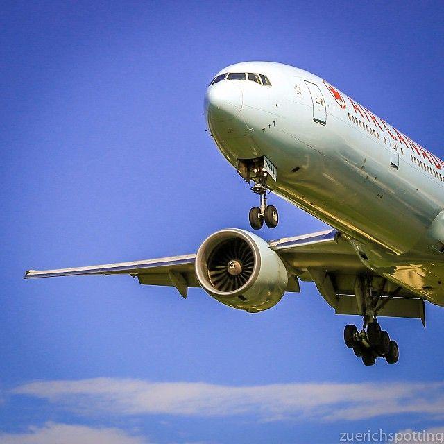 Boeing 777 Air Canada - Spotter in Zürich @zuerichspotting | Websta (Webstagram)