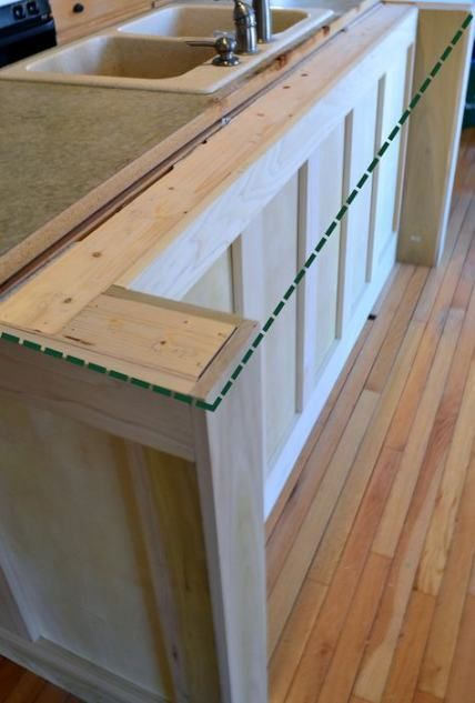 New kitchen island with seating for 2 home Ideas