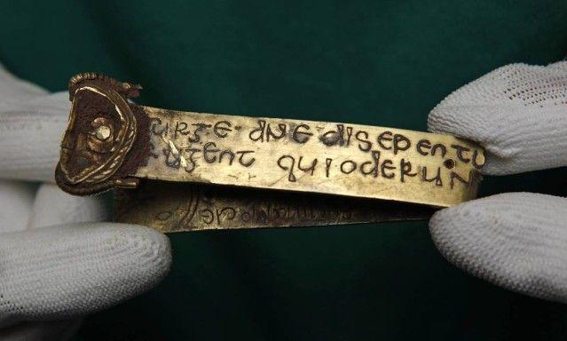 O tesouro é composto por cerca de 3.700 fragmentos - cerca de 2.800 de prata e 839 de ouro