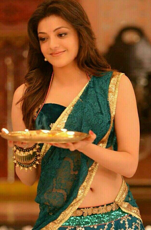 2c703fc846a707 Kajal Agarwal hot   Kajal Agarwal in 2019   Indian beauty saree ...