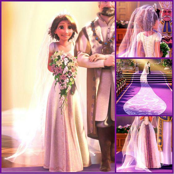 Tangled Wedding Dress Disney Wedding Dresses Tangled