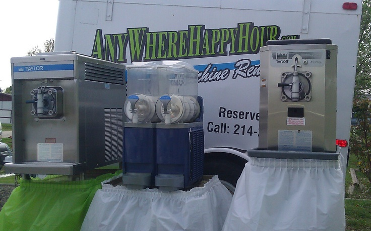 dallas margarita machine rental