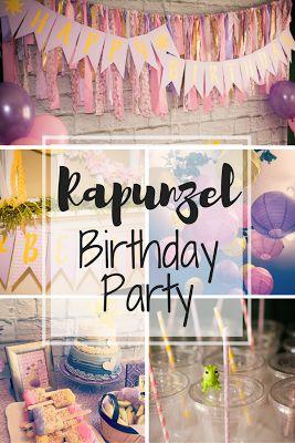Rapunzel 3rd Birthday Party.