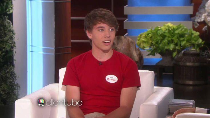Alex From Target on Ellen - Full Interview (HD)