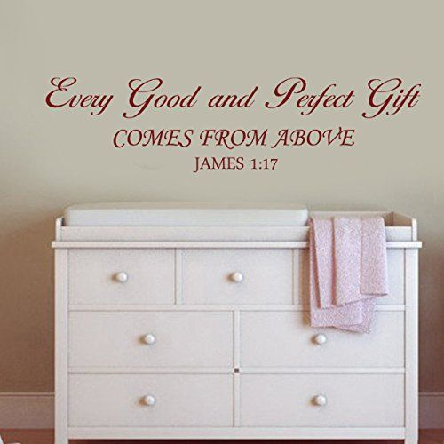 6 Things Every Perfectly Decorated Home Should Have: Scripture Wall Decals Images On