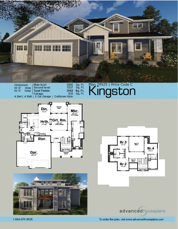 Best Ahp Story House Plans Images On Pinterest Story