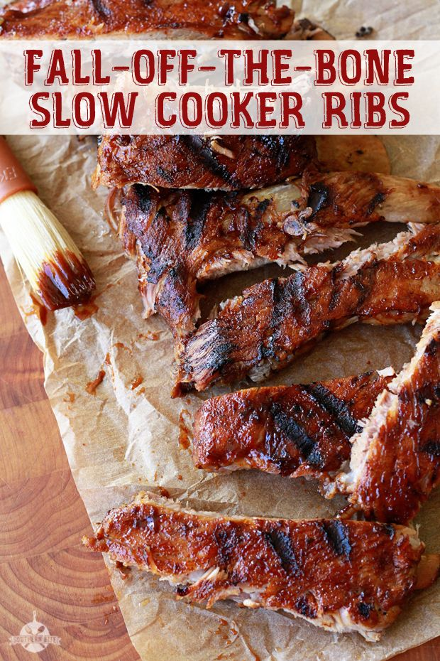 Fall-Off-The-Bone Slow Cooker Ribs | Recipe | Slow Cooker Ribs and ...
