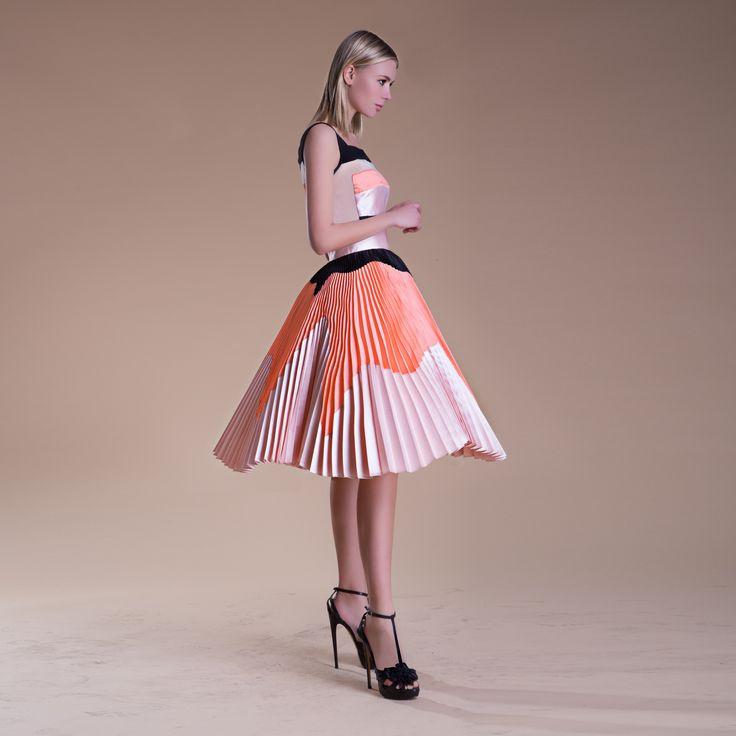 SO PROUD.  GABRIELE FIORUCCI BUCCIARELLI spring summer 2016 Boutique Online at: www.gabrielefioruccishop.com #fashion #plisse #mfw
