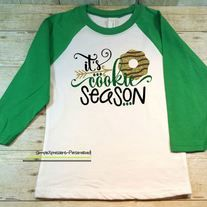 It's cookie season! Cute Girl Scout shirt.
