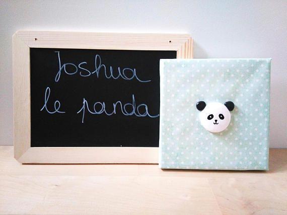 Tableau Joshua le Panda Décoration murale Tableau animal