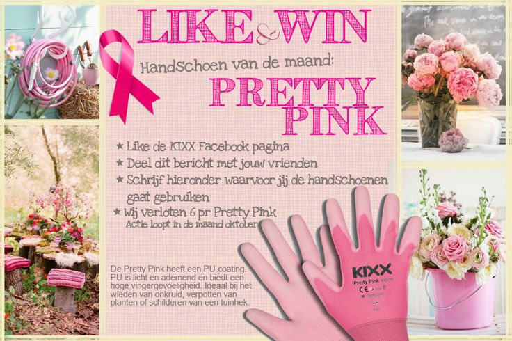 This month, KIXX supports Pink Ribbon. Like and win our Pretty Pink glove www.facebook.com/kixx-safety