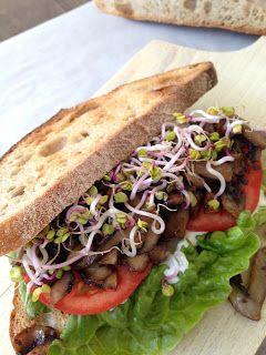 ZabosBabos: Gombás szendvics