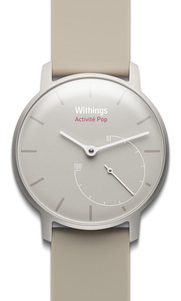 La première montre analogique qui embarque des capteurs d'activité et une technologie Bluetooth d'une discrétion absolue.