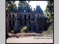 Le château de la Buzine début des années 80