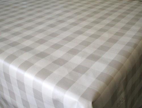 Wipe Clean Tablecloth Pvc Vinyl Silver Grey Amp White