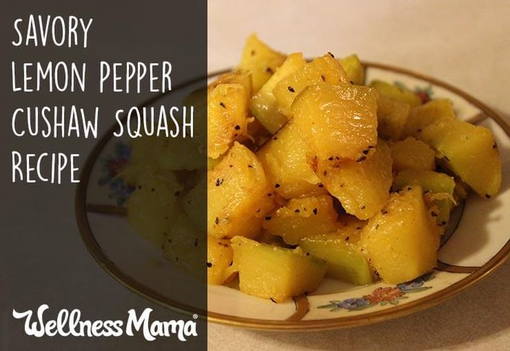 Give the usually bland flavor of cushaw squash a punch with homemade lemon pepper seasoning. It's a great way to spice it up without being overcomplicated or expensive.
