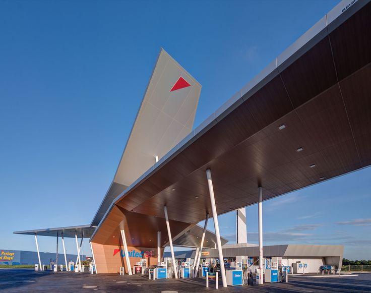 Peddle Thorp Architects - United Petroleum, Corio