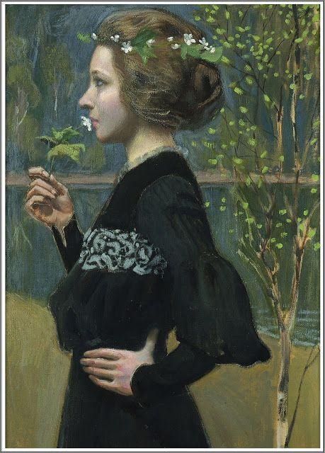 Akseli Gallen-Kallela (Finnish 1865-1931), Printemps - 1903