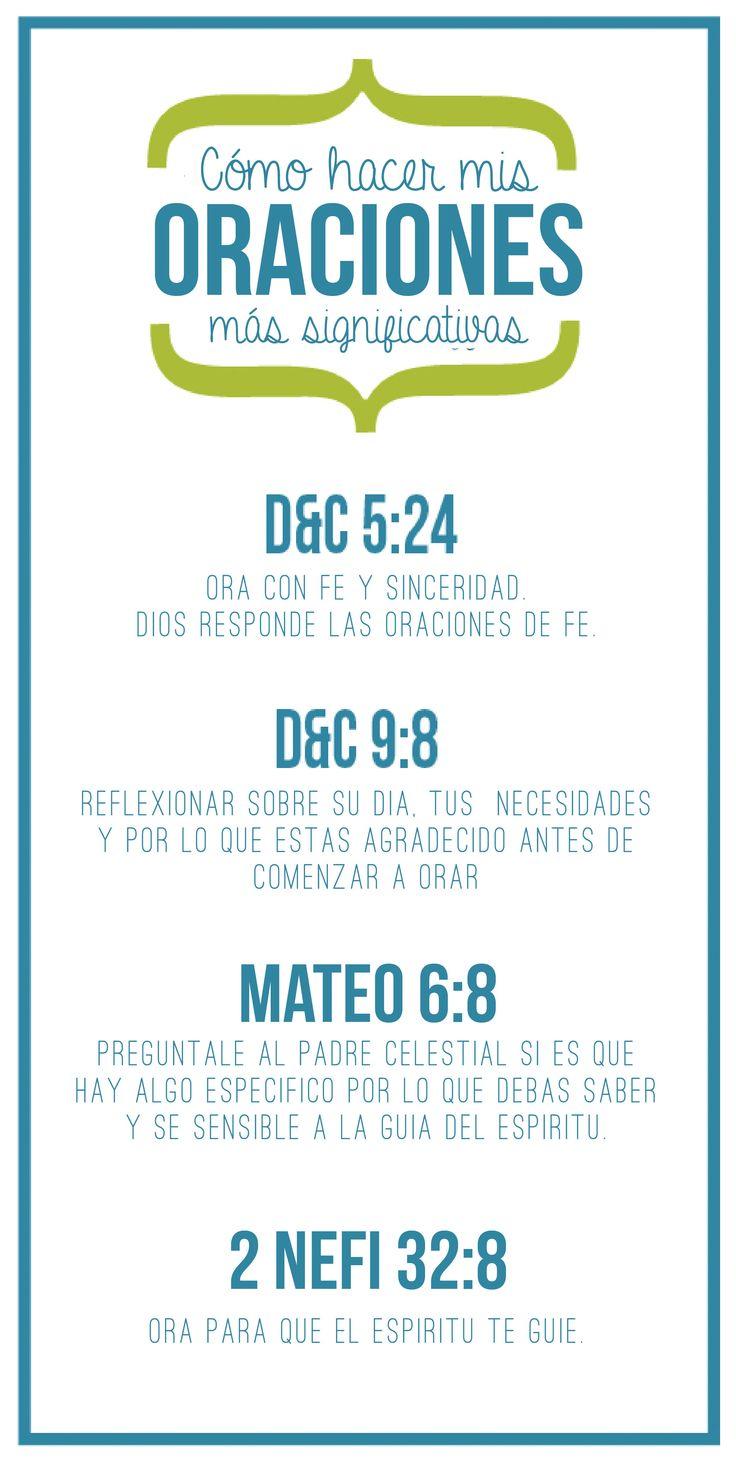 Oraciones Significativas -  Ven Sigueme Mayo 2014 - Conexion SUD