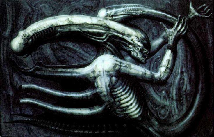 Να πώς ο H.R. Giger Εφηύρε το πιο Τρομακτικό Τέρας της Επιστημονικής Φαντασίας