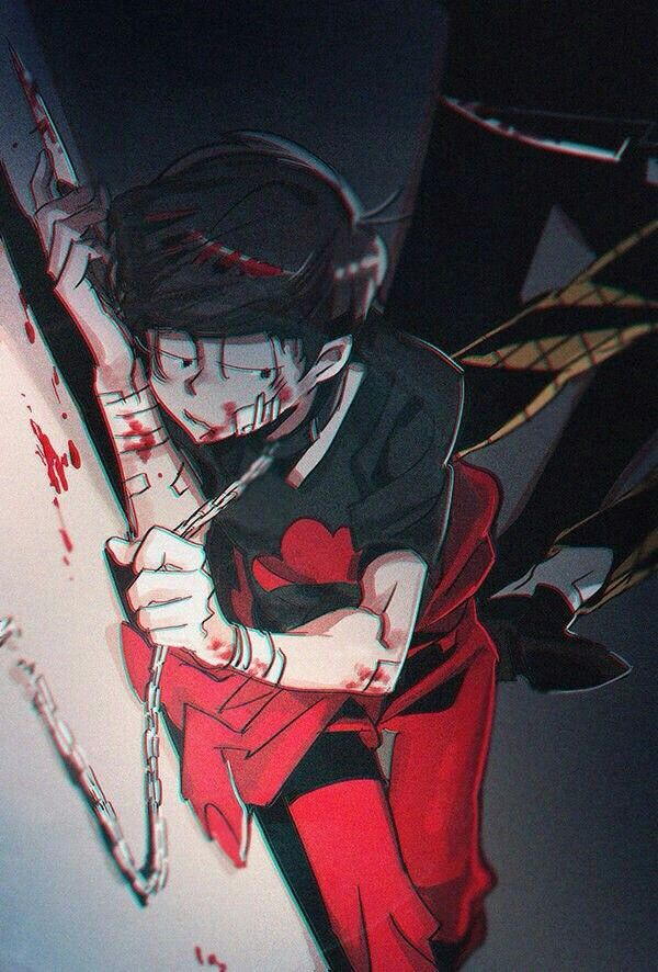 Osomatsu-san- Osomatsu #Anime「♡」Dark