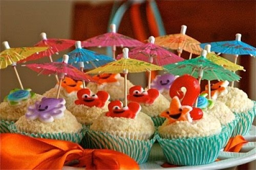 Cute for Children's Beach Themed Party