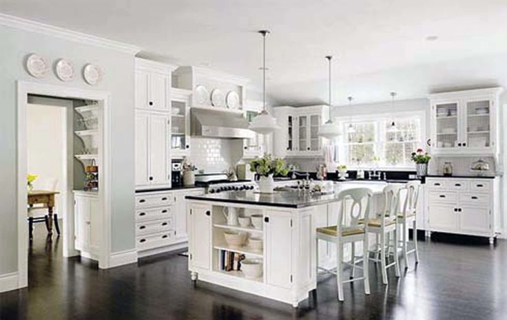 Decoration:Exquisite Modern White French Country L Shaped Kitchen Decor Ideas Together With Hardwood Floor And Perfect Rustic Small Kitchen Island With Sink Feat Granite Cpuntretops Also Charming Furniture Design As Well As Beautiful Paint Colors 25 Innovation Attaining the Sought After: French Country Design Kitchen