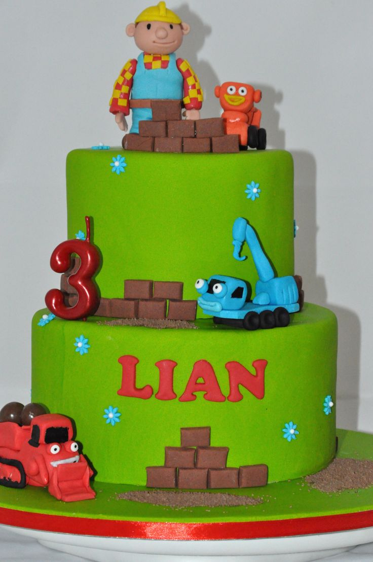 30 Best Bob The Builder Cakes Images On Pinterest Bob