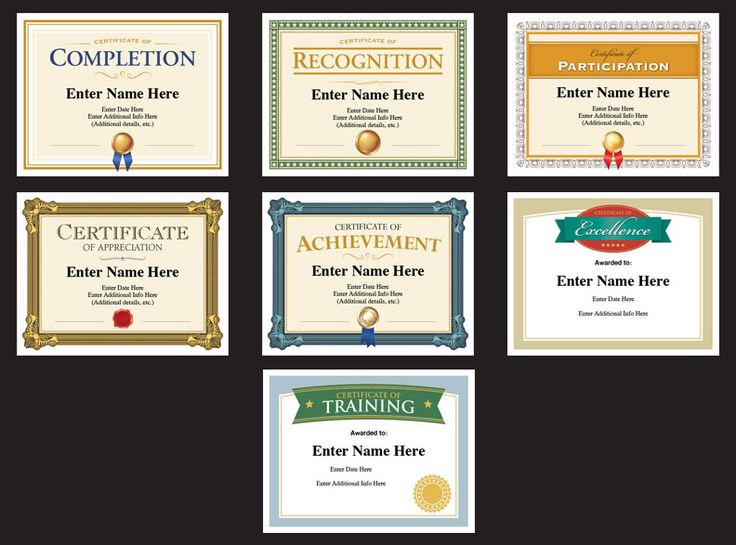 Best 25+ Certificate of completion template ideas on Pinterest - excellence award certificate template