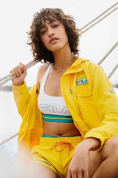 FILA + UO Christina Sail Jacket - Urban Outfitters