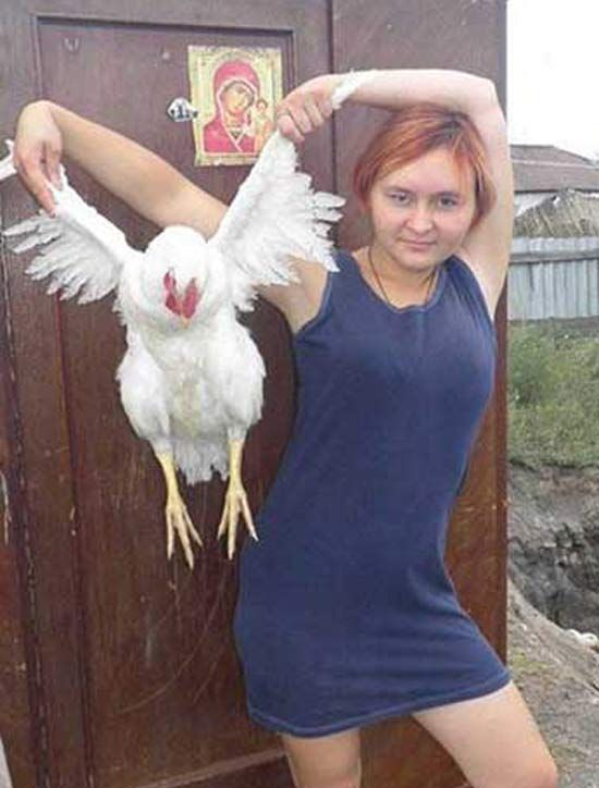 Hilariously Weird Profile Pictures From Russian Dating Sites