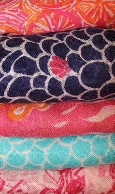 Cute colorful scarfs for those slightly chilling mornings when I  #ridecolorfully on my #vespa.