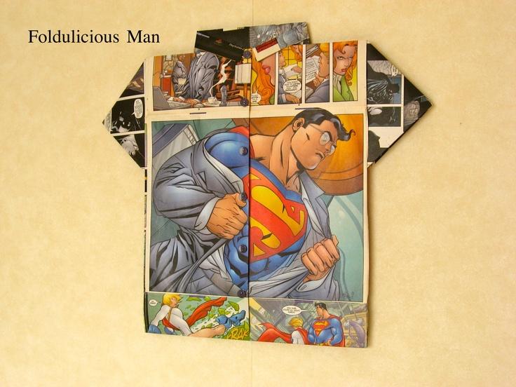 Foldulicious Shirt - Superman #1