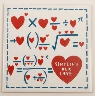 a formula matematica do amor