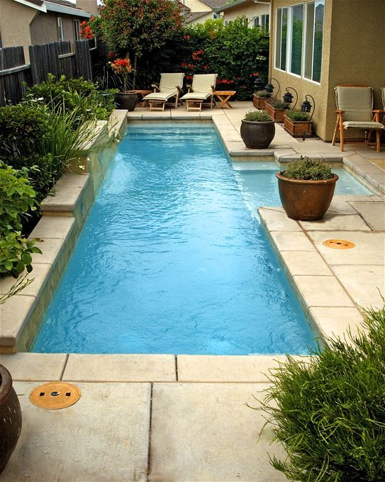 mini pool for smaller yard!